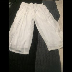 Women's size xl pull up pants lined